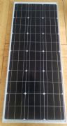 100W Rigid Aluminuim framed solar panel 1240x505x30